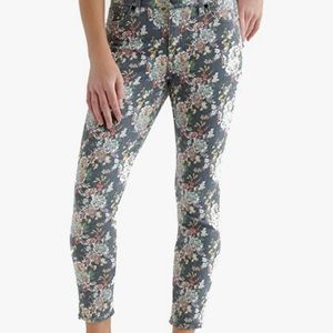 LUCKY BRAND Cropped Floral Skinny Jean -Sz 29 NWOT